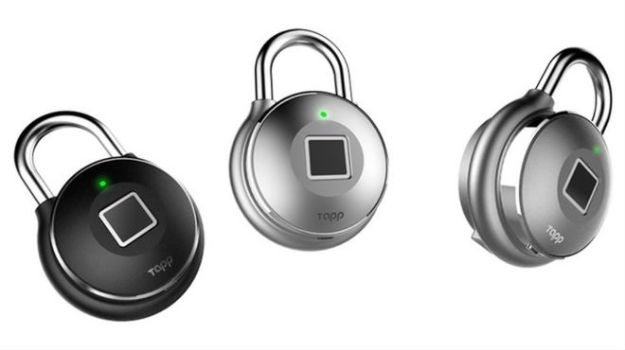 £80 fingerprint padlock cracked by any smartphone