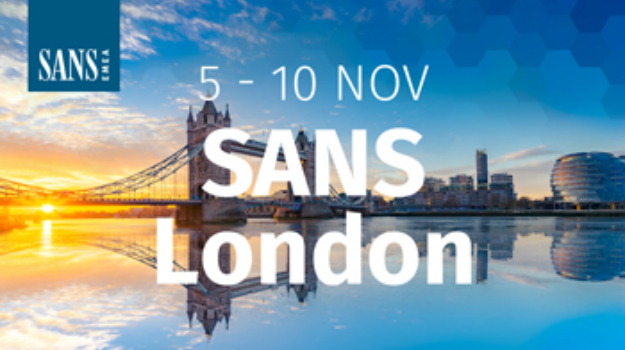 SANS coming to London this November
