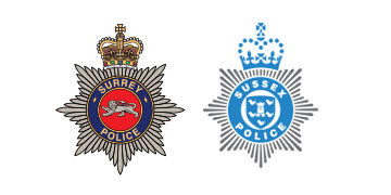 Surrey and Sussex Police logo