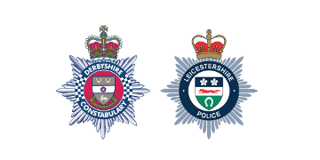 Derbyshire Constabulary & Leicestershire Police logo
