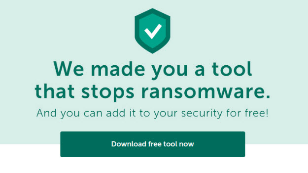 Kaspersky updates free anti-ransomware software