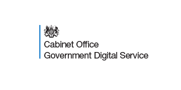 The Cabinet Office - Government Digital Service logo